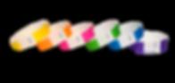 Muti Colored Tyvek Wristbands