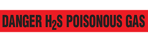 DANGER H2S-POISONOUS GAS