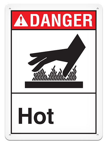 DANGER - Hot