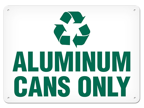 RECYCLE - Aluminum Only