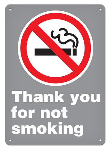PROHIBITION - Thank You For Not Smoking