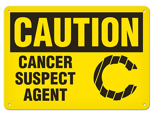 Caution - Cancer Suspect Agent