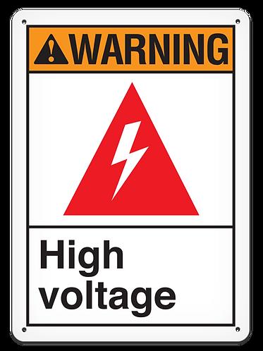 WARNING - High Voltage