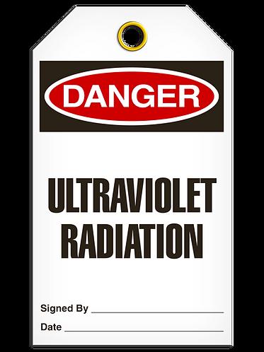 DANGER  -  Ultraviolet Radiation