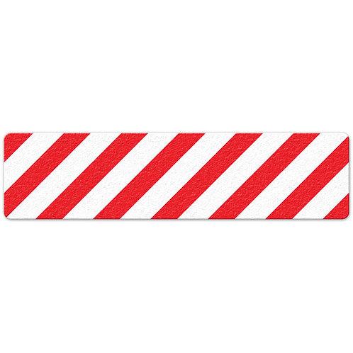 Red/White Hazard Stripe Floor Sign