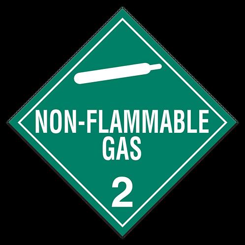 Class 2.2 - Non-Flammable Non-Toxic Gases