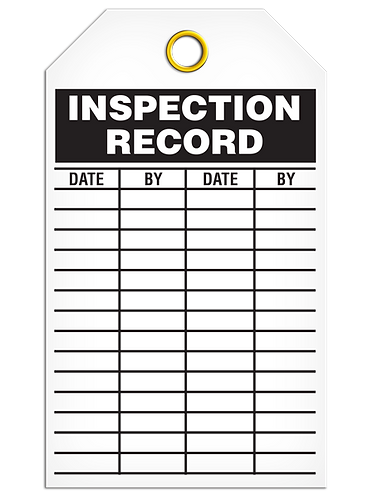 Inspection  -  Record