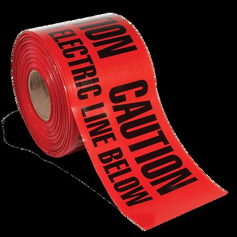 Utility Grade Barricade Tape