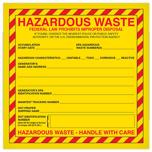 Hazardous Waste Federal Law