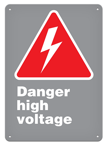 DANGER - Danger High Voltage