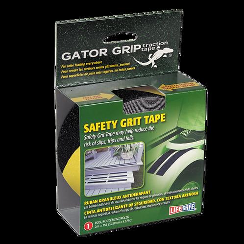 Gator Grip® Anti-Slip Safety Grit Tape 15ft (Yellow/Black)