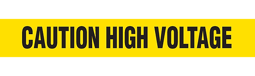 CAUTION HIGH VOLTAGE