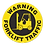 Thumbnail: Warning Forklift Traffic Floor Sign