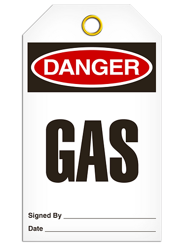 DANGER - Gas