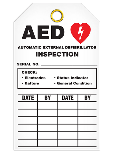 Inspection  -  AED