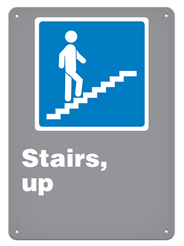 GENERAL - Stairs, Up