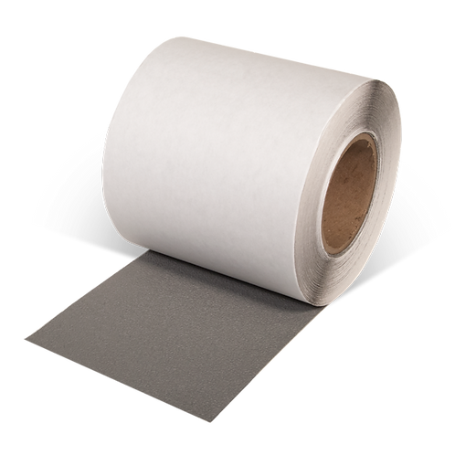 """6"""" x 60"""" Rubberized Resilient Anti-Slip Tape (Gray)"""