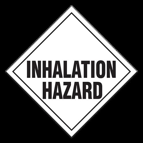 Toxic Inhalation Hazard Truck Placards