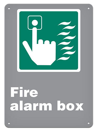 EMERGENCY - Fire Alarm Box