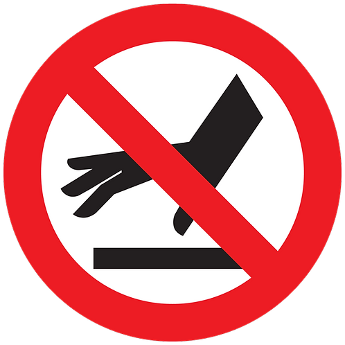 Prohibited - Do Not Touch
