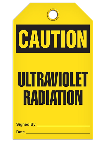 CAUTION - Ultraviolet Radiation