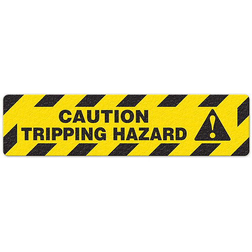 Caution - Tripping Hazard Floor Sign