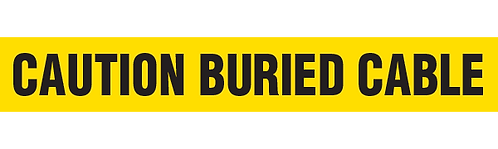 CAUTION BURIED CABLE
