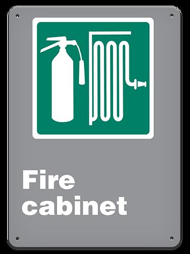 EMERGENCY - Fire Cabinet