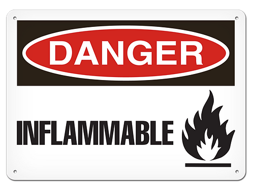 DANGER - Inflammable