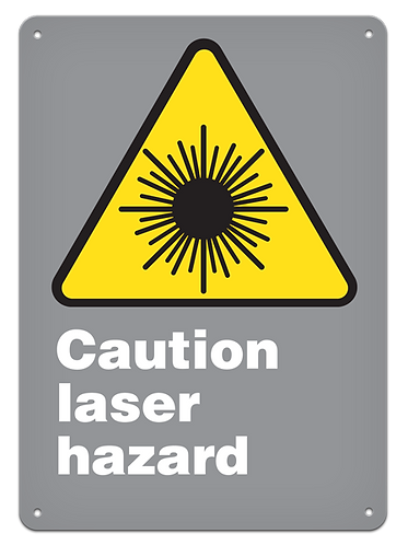 CAUTION - Caution Laser Hazard