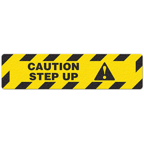 Caution - Step Up Floor Sign