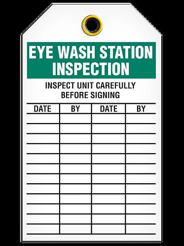 Inspection  -  Eye Wash