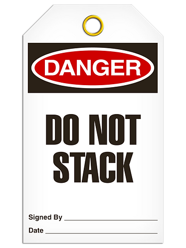 DANGER - Do Not Stack