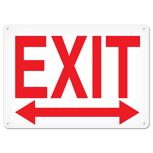 FIRE SIGNS - Exit (Left / Right Arrow)