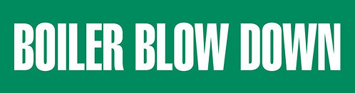 PM1030 - BOILER BLOW DOWN