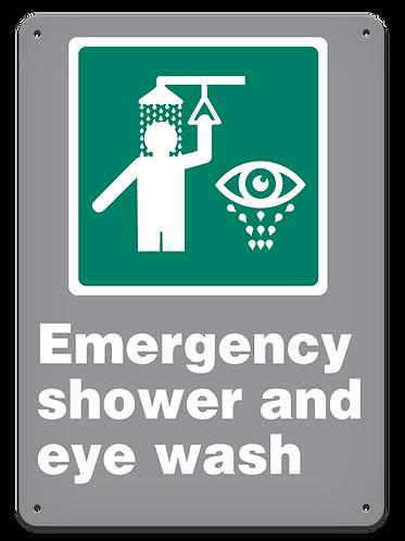 EMERGENCY - Emergency Shower And Eye Wash