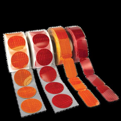 Reflex Reflective Stick-On Reflectors
