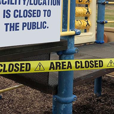 Area Closed Barricade Tape