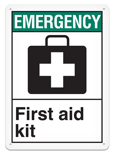 EMERGENCY - First Aid Kit