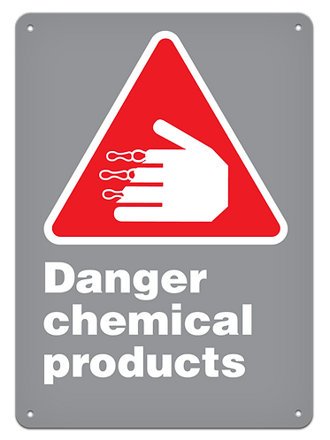 DANGER - Danger Chemical Products