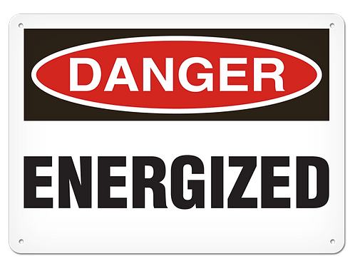 DANGER - Energized