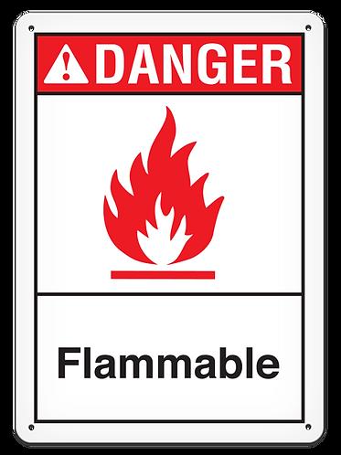 DANGER - Flammable