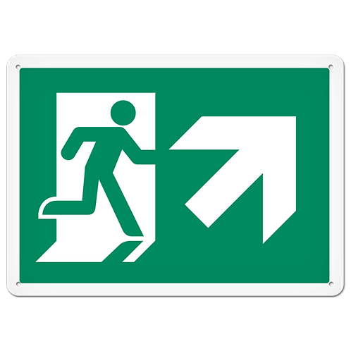 FIRE SIGNS - Exit (Up Right)