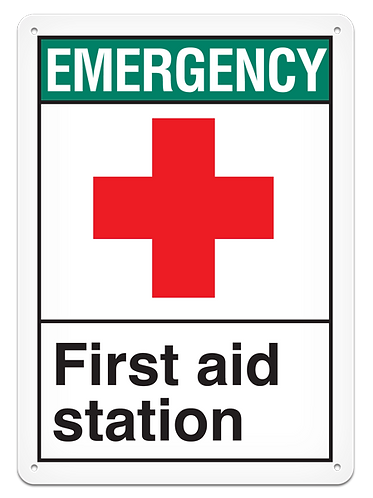 EMERGENCY - First Aid Station
