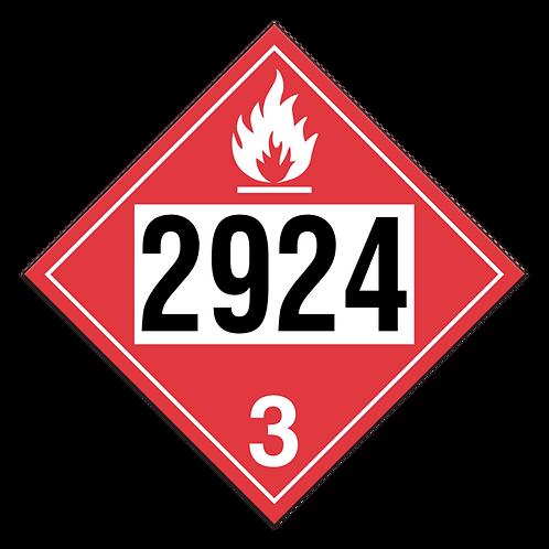 Flammable Liquid, Corrosive