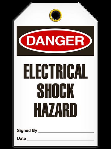 DANGER - Electrical Shock Hazard