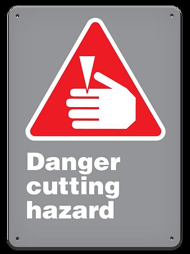 DANGER - Danger Cutting Hazard