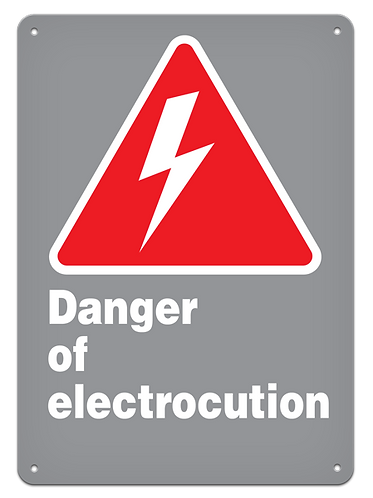 DANGER - Danger Of Electrocution