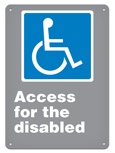 GENERAL - Access For The Disabled