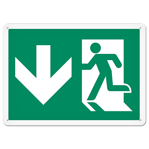 FIRE SIGNS - Exit (Down)